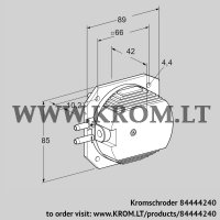 Pressure switch for air DL 4EH-1 (84444240)