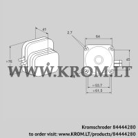 Pressure switch for air DL 50E-1 (84444280)