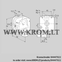 Pressure switch for gas DG 50UG-9K2 (84447022)