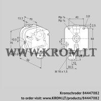 Gas vacuum sensor DG 12IG-4 (84447082)