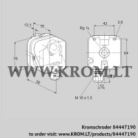 Pressure switch for gas DG 10S-3 (84447190)