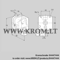 Pressure switch for gas DG 150SG-6K2 (84447444)