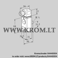 Pressure switch for gas DG 17VC8D-6S32 (84448004)