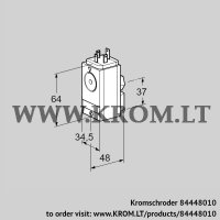 Pressure switch for gas DG 17VC5-5W (84448010)