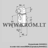 Pressure switch for gas DG 17VC5-6WG (84448011)
