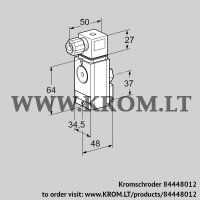 Pressure switch for gas DG 17VC5-6W (84448012)
