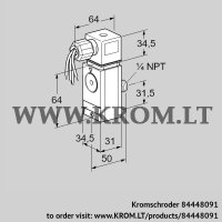 Pressure switch for gas DG 17VCT8-6WG (84448091)