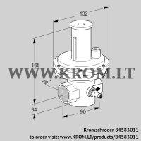 Relief valve VSBV 25R40-4Z (84583011)