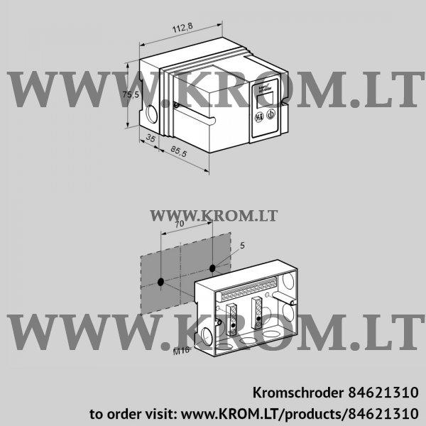 Kromschroder Burner control unit IFD 258-3/1P, 84621310