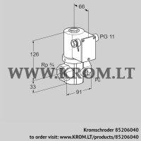 Gas solenoid valve VG 20R02NT31DM (85206040)