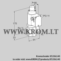 Gas solenoid valve VG 20R02LT31DM (85206140)