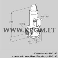 Air solenoid valve VR 40R01RT33D (85247100)