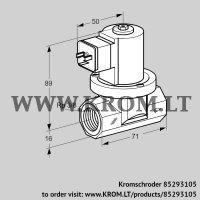 Gas solenoid valve VGP 10R02W5 (85293105)