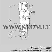 Motorized valve for gas VK 50R10W5XA43D (85311034)