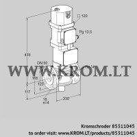Motorized valve for gas VK 50F10W6XA43D (85311045)