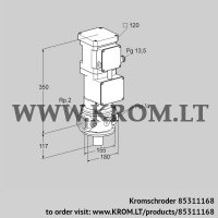 Motorized valve for gas VK 50R10MA93DS2 (85311168)