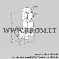 Motorized valve for gas VK 65F10ZMA93DS (85313051)