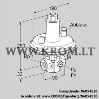 Pressure control VAR 25R05-1 (86054010)