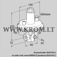 Pressure control VAR 25R05-2 (86054011)
