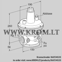 Pressure control VAR 40R05-1 (86054020)