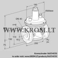 Pressure control VAR 40F05-1 (86054030)
