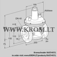 Pressure control VAR 40F05-2 (86054031)