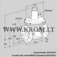 Pressure control VAR 80F05-2 (86054061)