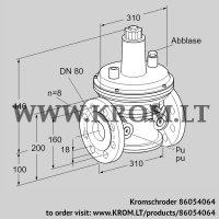 Pressure control VAR 80F05-1Z (86054064)