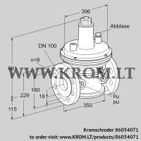 Pressure control VAR 100F05-2 (86054071)