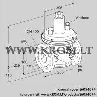 Pressure control VAR 100F05-1Z (86054074)