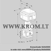 Control valve RVS 2/WML10W60S1-3 (86060000)