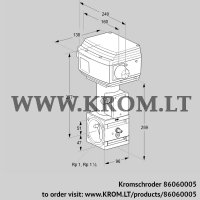 Control valve RVS 2/BML10W60S1-3 (86060005)