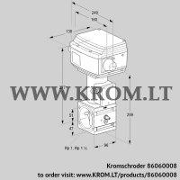 Control valve RVS 2/EML02W60S1-3 (86060008)