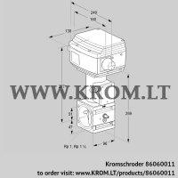 Control valve RVS 2/XML10W60S1-6 (86060011)