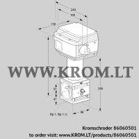 Control valve RV 2/XML10W60S1 (86060501)
