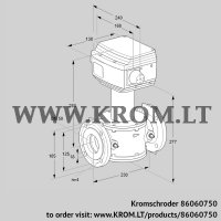 Control valve RV 50/KF10W60S1 (86060750)