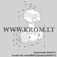 Control valve RV 50/LF05W60S1 (86060751)