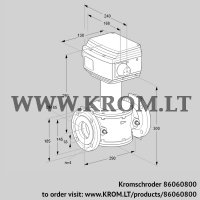 Control valve RV 65/LF05W60S1 (86060800)