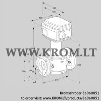 Control valve RV 80/NF02W60S1 (86060851)