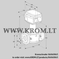 Control valve RV 80/MF03W30E (86060865)
