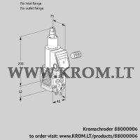 Gas solenoid valve VAS1-/LW (88000006)