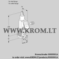 Gas solenoid valve VAS1-/LQ (88000016)