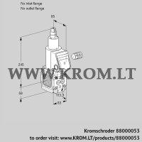 Gas solenoid valve VAS3-/LQ (88000053)