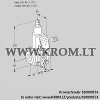 Gas solenoid valve VAS340R/LQ (88000054)