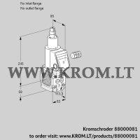 Gas solenoid valve VAS3T-/LQ (88000081)