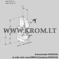 Air/gas ratio control VAG125R/NWAE (88000206)