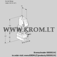 Air/gas ratio control VAG1-/15R/NQBE (88000242)