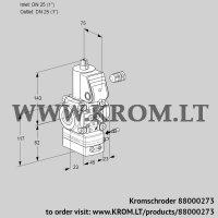 Air/gas ratio control VAG125R/NWAE (88000273)