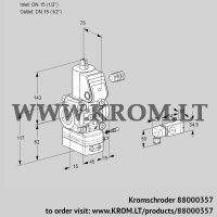 Air/gas ratio control VAG115R/NWBE (88000357)