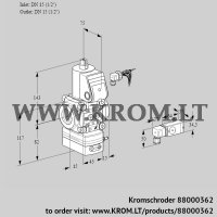 Pressure regulator VAD115R/NW-100B (88000362)